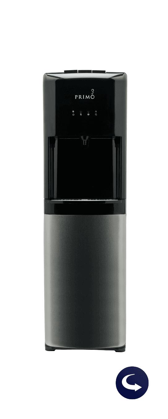 Deluxe bottom loading dispenser